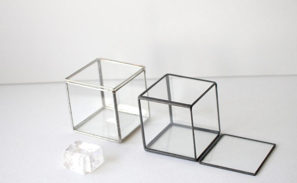 Calsite du verre ガラスのカルサイト(silver/black) ¥3,600(in tax)
